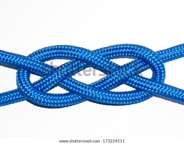 Josephine Knot Carrick Bend Consists Two Stock Photo (Edit