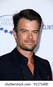 """Josh Duhamel at the Clinton Foundation Gala in Honor of """"A Decade of Difference,""""  Palladium, Hollywood, CA 10-14-11"""