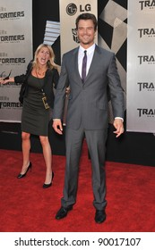 """Josh Duhamel at the Los Angeles premiere of his new movie """"Transformers: Revenge of the Fallen"""" at the Mann Village Theatre, Westwood. June 22, 2009  Los Angeles, CA Picture: Paul Smith / Featureflash"""