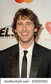 Josh Groban at the 2010 MusiCares Person Of The Year Tribute To Neil Young,  Los Angeles Convention Center, Los Angeles, CA. 01-29-10