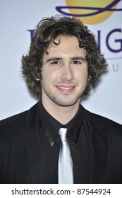Josh Groban at music mogul Clive Davis' annual pre-Grammy party at the Beverly Hilton Hotel. February 9, 2008  Los Angeles, CA Picture: Paul Smith / Featureflash