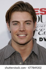 Josh Henderson at the 'Desperate Housewives: Season 2 - Extra Juicy Edition' DVD Launch Event held at the Universal Studios in Universal City, USA on August 5, 2006.