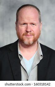 """Joss Whedon arriving for the world premiere of """"Thor: The Dark World"""" at the Odeon Leicester Square, London. 22/10/2013"""