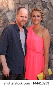 Joss Whedon and Zoe Bell at the 39th Annual Saturn Awards, The Castaway, Burbank, CA 06-26-13