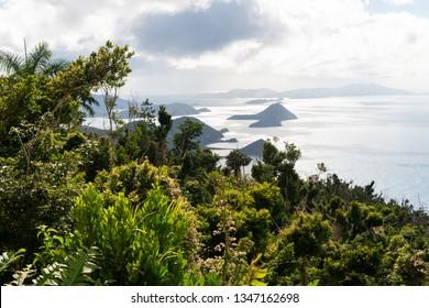 Jost Van Dyke Island from Sage Mountain, Tortola, British Virgin Islands