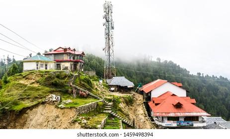 Jot Pass, Dalhousie, Chamba, Khajjiar, Himachal - 20 July, 2019 - A view of Jot Pass near Khajjiar located at an altitude of 2880 meters.
