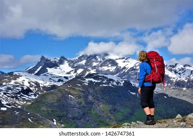 Jotunheimen, beautiful mountain and national park in Norway.