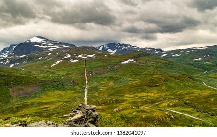 Jotunheimen national park in Norway