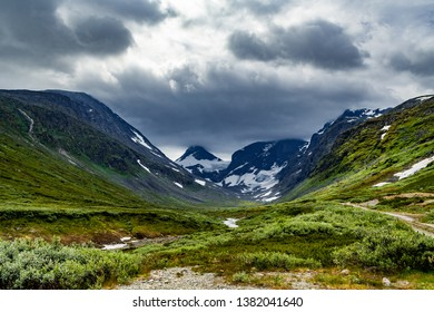 Jotunheimen national park i Norway