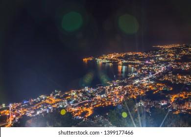 Jounieh View From Harissa Lebanon