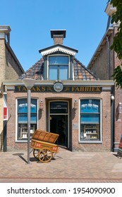Joure, The Netherlands - July 15 2018: Tobacco, coffee end tea factory De Witte Os in Joure. In this store the foundation was laid for the well-known company Douwe Egberts.