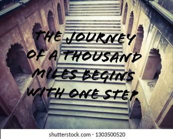 Journey is full of steps