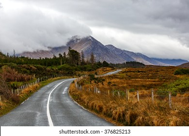 Journey on wild atlantic way in Connemara in Ireland