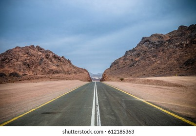 Journey through the Desert and Mountains