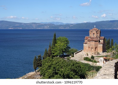 Jovan Kaneo orthodox church Ohrid Macedonia