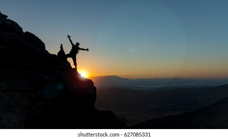 joy of the summit climb