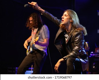Joyous Wolf 2019-07-07 , The Music Hall and Concert Theatre, Oshawa , Ontario , Canada  Joyous Wolf is a Rock band from Southern California formed in 2014