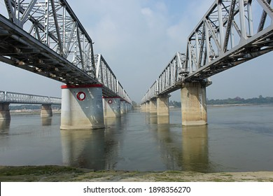 Digha–Sonpur or J.P. Setu is a rail-cum-road steel truss bridge across river Ganga, connecting Digha Ghat in Patna and Pahleja Ghat in Sonpur, Saran district in the Indian state of Bihar.