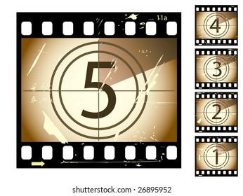 jpeg film countdown...vector in my portfolio