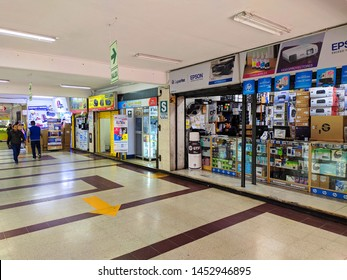 jpg, LIma, Lima, Peru, July 15th 2019 Centro Lima Mall of merchandising, like sublimation, business cards, pens, calendars and more