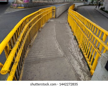 jpg, Lima, Lima, Peru, July 2th 2019 Puente Caqueta, Bridge Caquete, connect Lima to the Panamerican Highway