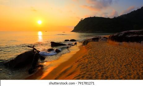 Juara Beach on Tioman Island, Malaysia