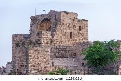 jubail castle in north lebanon