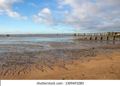 Jubilee beach, Southend-on-Sea, Essex, England