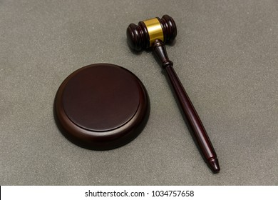 judge gavel on abstract background