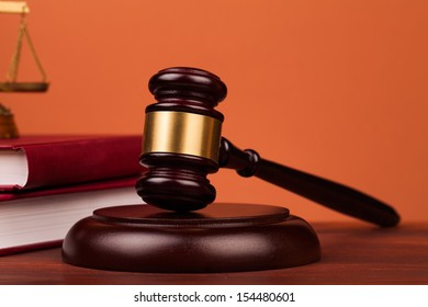 judge gavel and scales  of justice