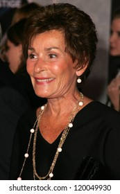 """Judge Judy Sheindlin at the World Premiere of """"The Prestige"""". El Capitan Theater, Hollywood, CA. 10-17-06"""