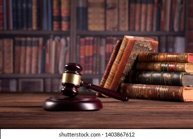 judge`s gavel, lawer`s office. law and justice