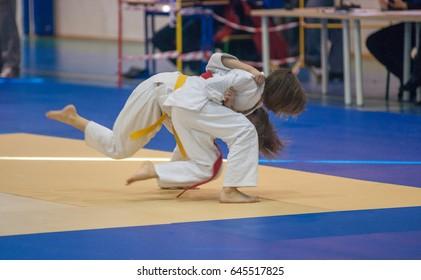 Judo Fight Images, Stock Photos & Vectors | Shutterstock