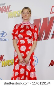 Judy Greer at the Los Angeles premiere of 'Ant-Man And The Wasp' held at the El Capitan Theatre in Hollywood, USA on June 25, 2018.