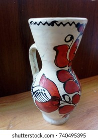 jug whit hungarian motives side view