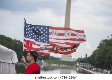 Juggalo protest and march on washington to protest gang label affiliation Juggalo march on washington 9/16/2017 on the national mall in washington dc