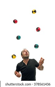 Juggling with six balls