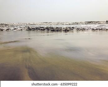 Juhu beach (chowpatty) near Andheri (Mumbai- India)