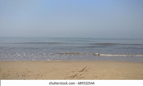 Juhu Beach in the Morning