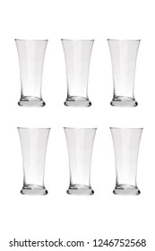Juice Glass on white background. Full resolution images