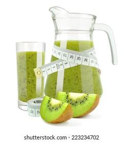 juice with kiwi