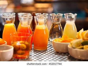 Juices at a Bar