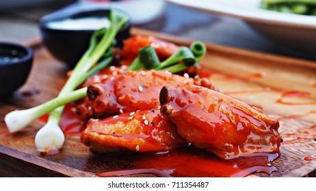 Juicy chicken wings