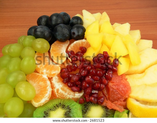 Juicy fruit salad