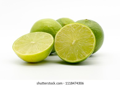 juicy green limes
