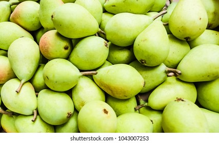 Juicy pears, background