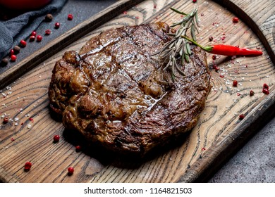 juicy Ribeye steak