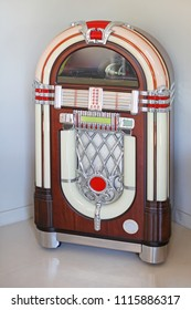Jukebox Replica Automated Music Player in Corner