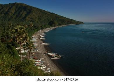 Jukung beach