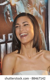 """Julia Jones at the Los Angeles premiere of her new movie """"Jonah Hex"""" at the Cinerama Dome, Hollywood. June 17, 2010  Los Angeles, CA Picture: Paul Smith / Featureflash"""
